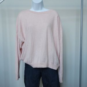 Roots Cotton and Cashmere Blend Sweater- XL